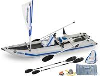 Paddleski™ 435ps Kayak (QuikRow™)